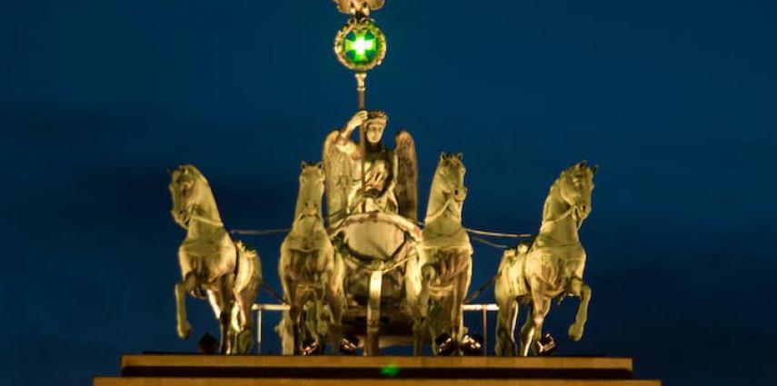 feste Laserinstallation Pariser Platz – Commerzbank AG
